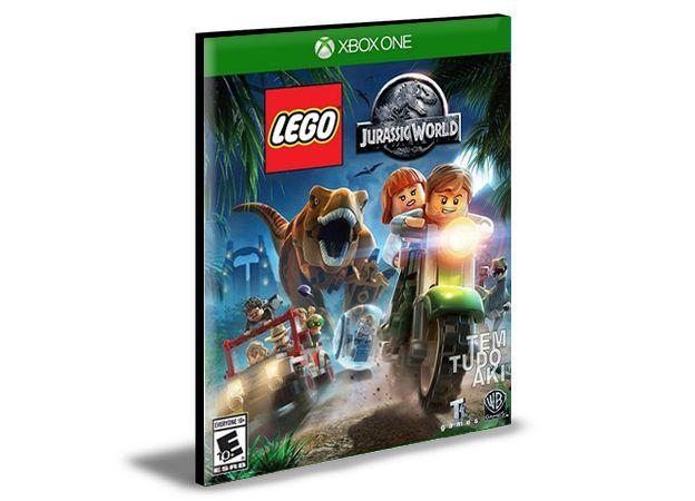 LEGO Jurassic World O Mundo Dos Dinossauros Xbox One e Xbox Series X S MÍDIA DIGITAL