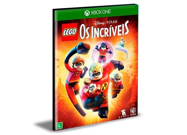 LEGO Os Incríveis Xbox One e Xbox Series X S MÍDIA DIGITAL