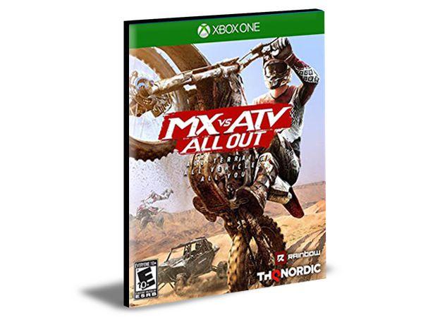 MX vs ATV All Out Xbox One e Xbox Series X S MÍDIA DIGITAL