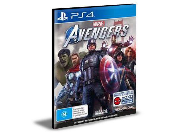 Marvel's Vingadores Ps4 e Ps5 Mídia Digital