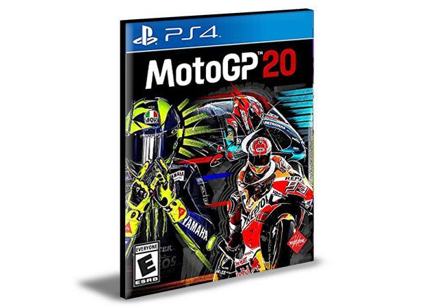 MotoGP 20 PS4 e PS5 PSN MÍDIA DIGITAL