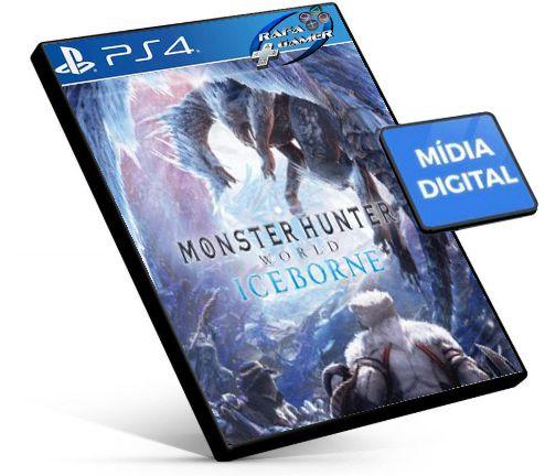 Monster Hunter World + DLC Iceborne | Português | PS4 | PSN | MÍDIA DIGITAL