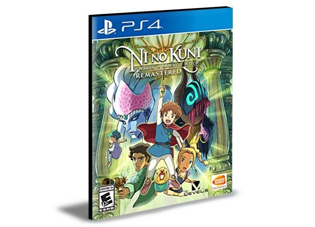 Ni no Kuni Wrath of the White Witch Remastered Ps4 e Ps5  Psn  Mídia Digital