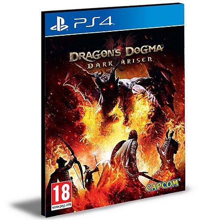 Dragon's Dogma Dark Arisen Ps4 e Ps5 Psn Mídia Digital