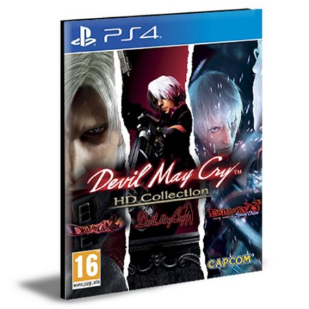 Devil May Cry HD Collection and 4SE Bundle Ps4 e Ps5 Psn Mídia Digital