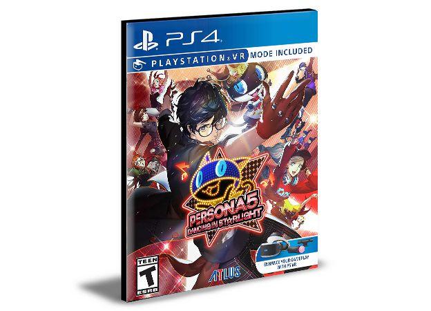 Persona 5 Dancing in Starlight PS4 e PS5 PSN MÍDIA DIGITAL