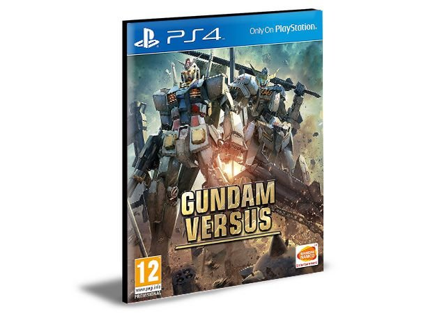 GUNDAM VERSUS Ps4 e Ps5 Psn Mídia Digital