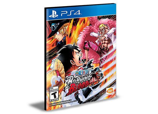 One Piece Burning Blood  Português PS4 e PS5 PSN  MÍDIA DIGITAL