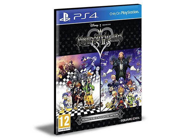 KINGDOM HEARTS HD 1.5 +2.5 ReMIX PS4 e PS5 PSN  MÍDIA DIGITAL