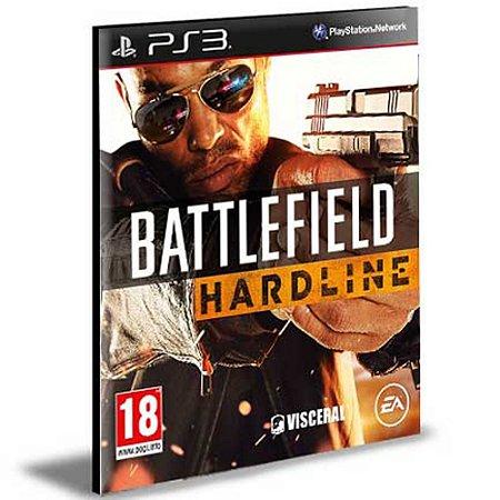 Battlefield Hardline Português Ps3 Psn Mídia Digital