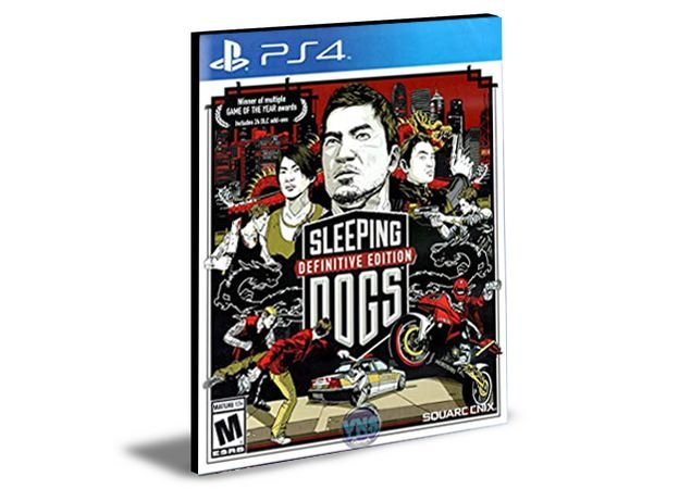 Sleeping Dogs Definitive Edition PS4 e PS5 PSN  MÍDIA DIGITAL