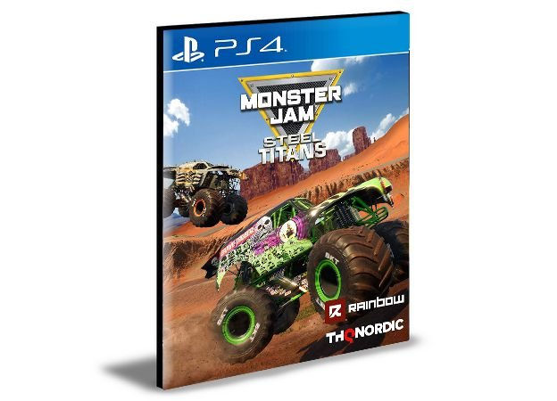 Monster Jam Steel Titans PS4 e PS5 PSN MÍDIA DIGITAL