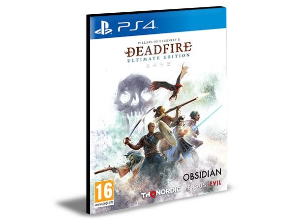 Pillars of Eternity II Deadfire - Ultimate Edition Português Ps4 e Ps5  Psn  Mídia Digital