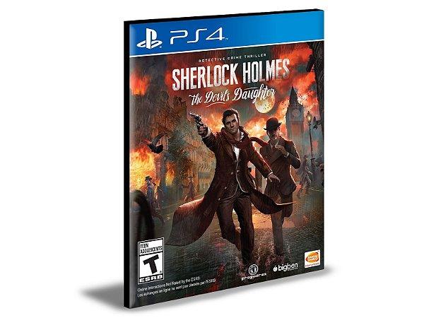 Sherlock Holmes The Devil's Daughter  PS4 e PS5 PSN  MÍDIA DIGITAL
