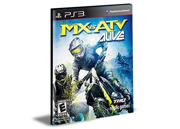 MX vs ATV: Alive PS3 PSN MÍDIA DIGITAL