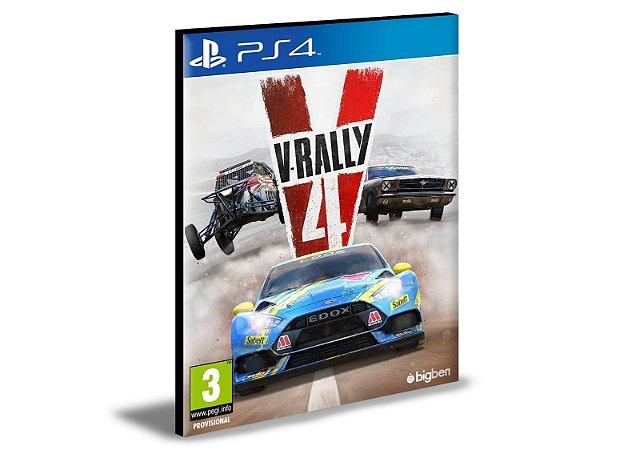 V-Rally 4 Ps4 e Ps5 Psn Mídia Digital