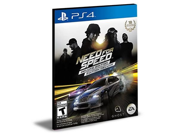 Need for Speed Deluxe Bundle PS4 e PS5  PSN  MÍDIA DIGITAL