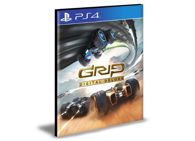 GRIP Digital Deluxe Ps4 e Ps5 Psn Mídia Digital