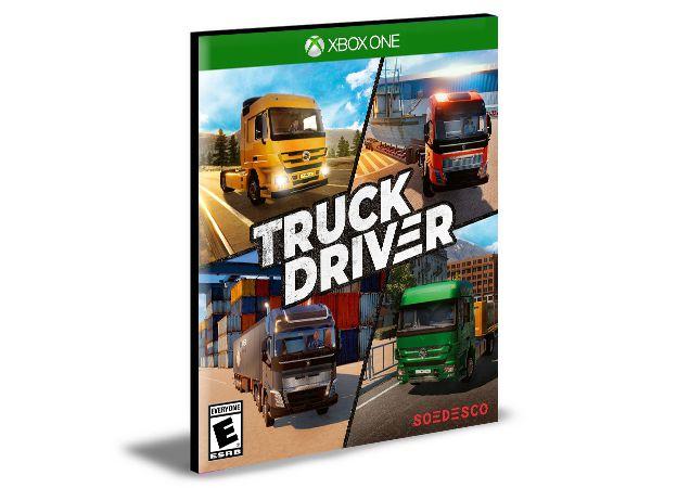 Truck Driver   Português   Xbox One   MÍDIA DIGITAL