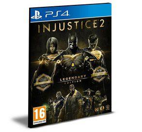 Injustice 2 - Legendary Edition  PS4 e PS5 PSN MÍDIA DIGITAL