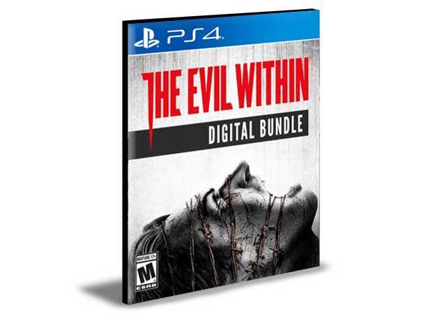 The Evil Within Digital Bundle PS4 e PS5 PSN  MÍDIA DIGITAL
