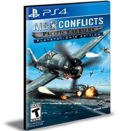Air Conflicts Pacific Carriers Ps4 e Ps5 Digital  Promoção