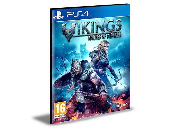 Vikings - Wolves of Midgard  Ps4 e Ps5 Digital  Promoção