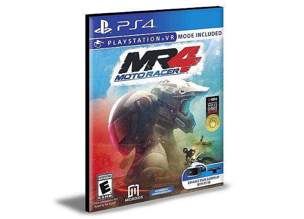Moto Racer 4   PS4  e PS5 PSN  MÍDIA DIGITAL