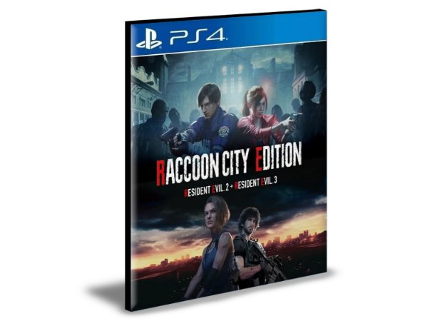 RACCOON CITY EDITION  Português PS4 e PS5 PSN  MÍDIA DIGITAL