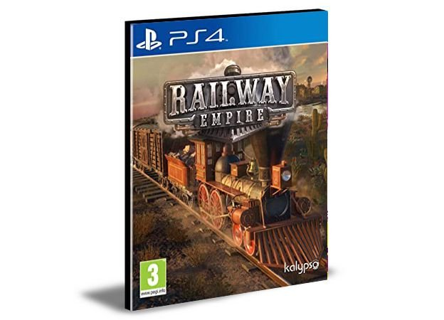 Railway Empire Ps4 e Ps5 Psn  Mídia Digital
