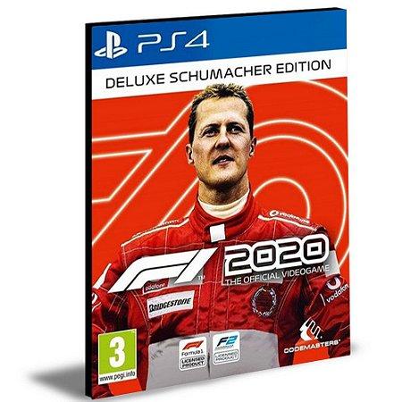 F1 2020 Deluxe Schumacher Edition Ps4 e Ps5 Psn Mídia Digital
