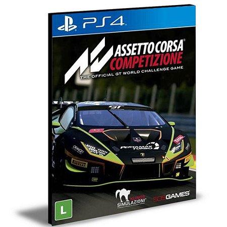 Assetto Corsa Competizione Ps4 E Ps5  Psn   Mídia Digital