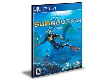 Subnautica Ps4 e Ps5 Psn Mídia Digital