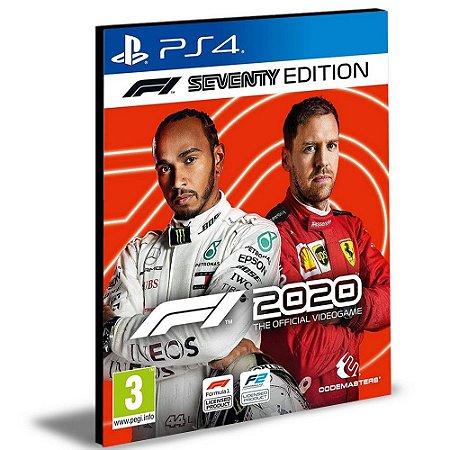 F1 2020 - Seventy Edition Ps4 e Ps5  Psn Mídia Digital