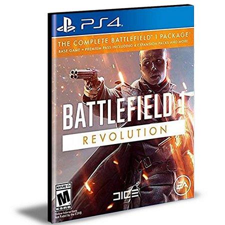 Battlefield 1 Revolution Ps4 e Ps5 Psn  Mídia Digital