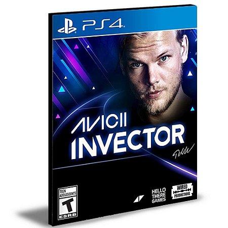 AVICII Invector Ps4 e Ps5 Psn  Mídia Digital