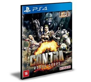 CONTRA: ROGUE CORPS | Ps4 | Psn | Mídia Digital