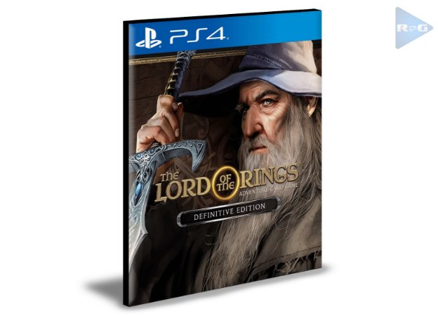 The Lord of the Rings Adventure Card Game Definitive Edition  PS4 e PS5 PSN  MÍDIA DIGITAL