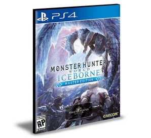 Monster Hunter World Iceborne Master Edition PS4 e PS5 PSN MÍDIA DIGITAL