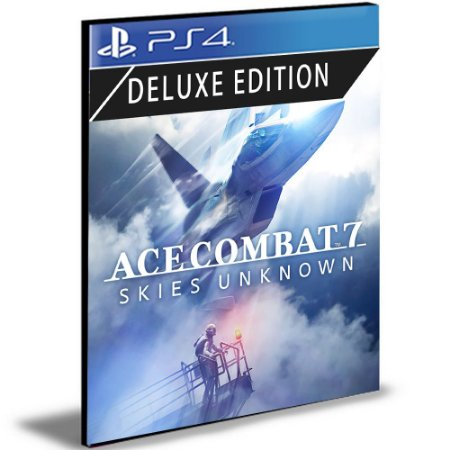 ACE COMBAT 7 SKIES UNKNOWN Edição Deluxe Ps4 e Ps5 Mídia Digital