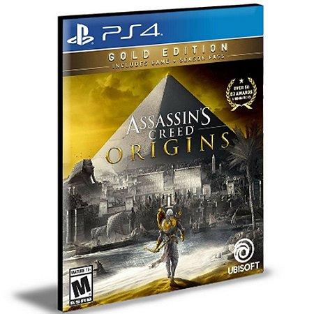 Assassin's Creed Origins Gold Edition Ps4 e Ps5 Psn Mídia Digital