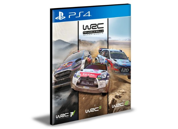 WRC Collection  PS4 e PS5 PSN  MÍDIA DIGITAL