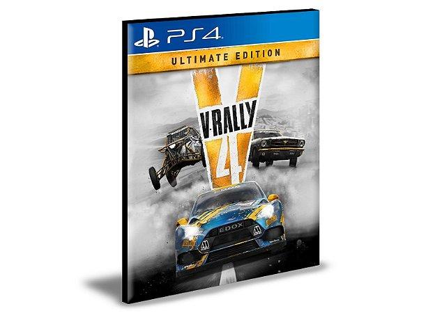 V-Rally 4 Ultimate Edition Ps4 e Ps5 Psn Mídia Digital