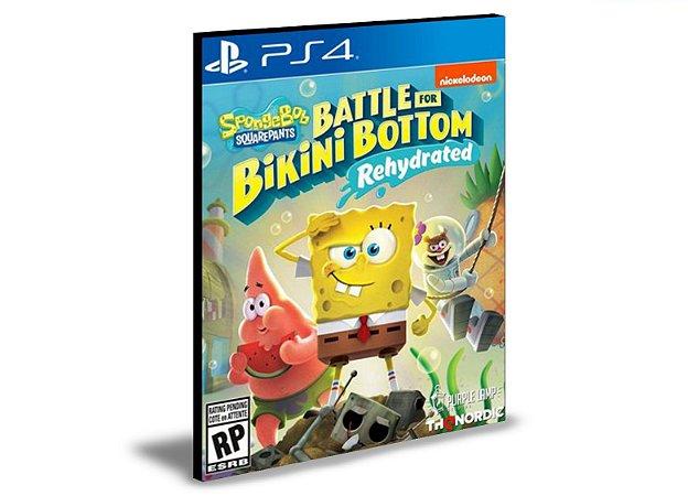 SpongeBob SquarePants Battle for Bikini Bottom - Rehydrated  PS4 e PS5 PSN   MÍDIA DIGITAL