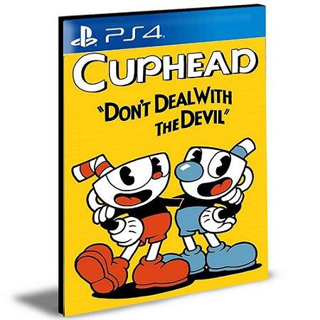 Cuphead Ps4 e Ps5 Psn Mídia Digital