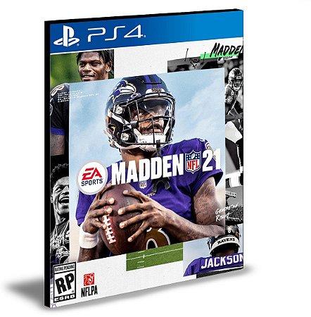 Madden NFL 21 Ps4 e Ps5 Mídia Digital