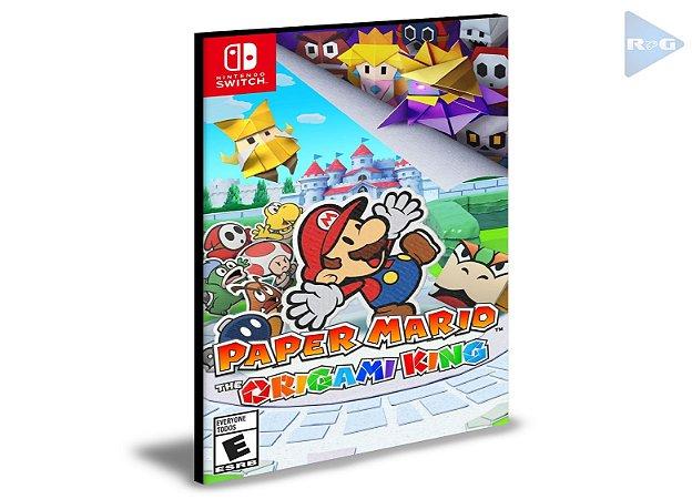 Paper Mario The Origami King Nintendo Switch Mídia Digital