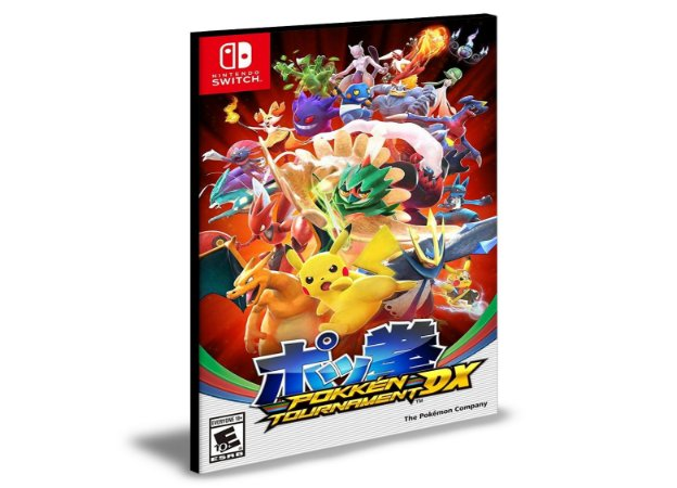 Pokkén Tournament Dx | Nintendo Switch | Mídia Digital