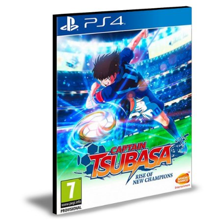 Captain Tsubasa Rise of New Champions Ps4 e Ps5 Psn Mídia Digital
