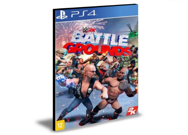 WWE 2K Battlegrounds  Ps4 e Ps5  Psn  Mídia Digital